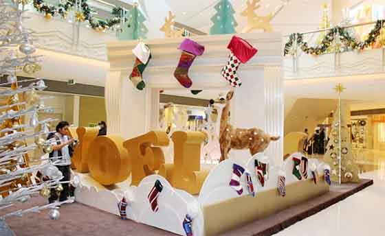 广州圣诞布置圣诞美陈设计方案欣赏